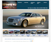 Dealer Website Screenshot