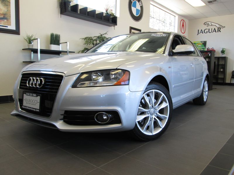 2012 Audi A3 Premium 4D Hatchback 20T Automatic Silver Black This is a beautiful A3 with the S