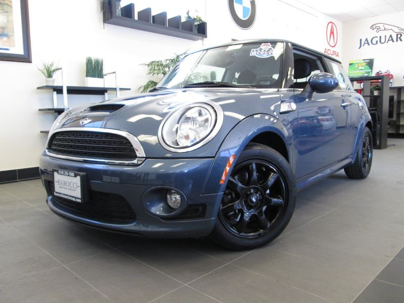 2010 Mini Cooper S 2dr coupe Automatic Blue Gray This One Owner Mini Cooper S includes rear spoi