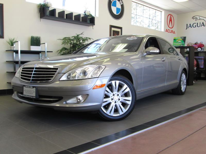 2009 MERCEDES S Class S550 4D Sedan Automatic Champagne Charcoal Includes a clean history and is