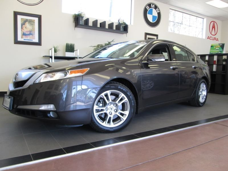 2010 Acura TL Sedan Automatic Gray Includes a ton of features like technology package XM Satelli