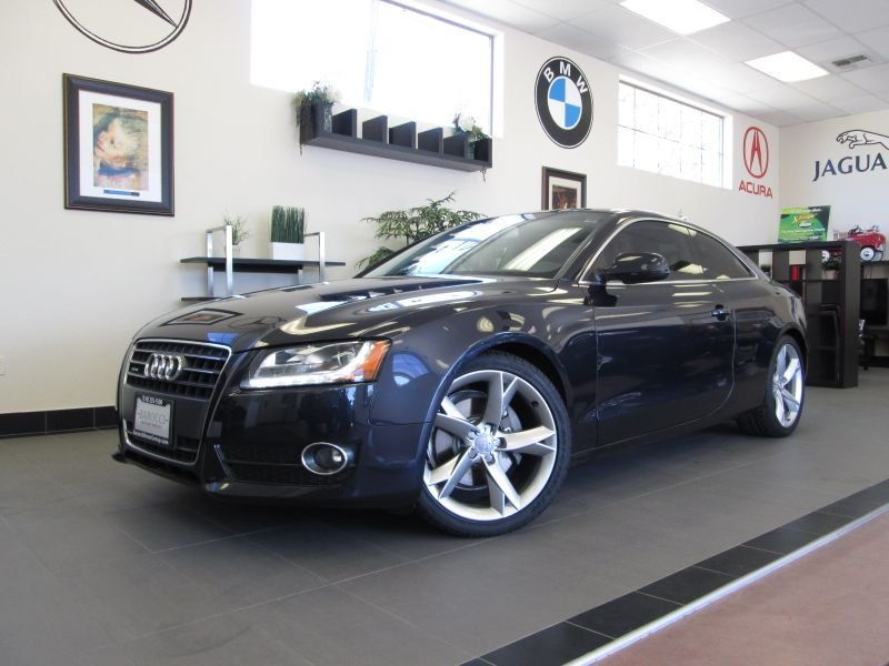 2012 Audi A5 Premium Plus 2D Coupe Qtro 20 Automatic Blue This is a fantastic one owner A5 compl