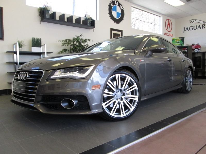 2012 Audi A7-Premium Quattro Premium Quattro Automatic Gray Black This is an amazing car with ev