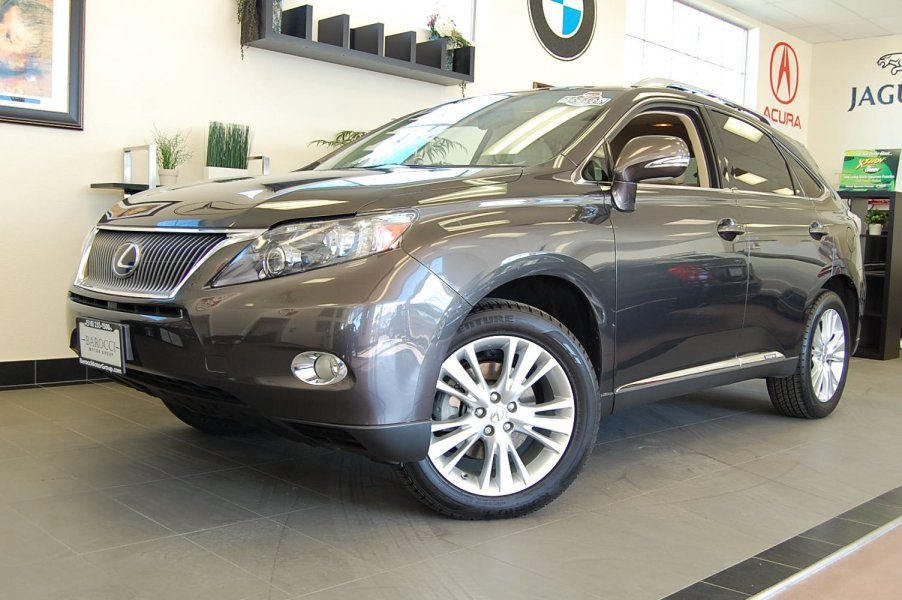 2010 Lexus RX 450h Hybrid 4D Utility AWD Automatic Brown Tan This is a beautiful hybrid SUV that