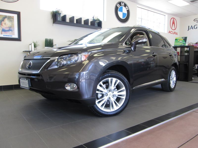 2010 Lexus RX 450h Hybrid 4D Utility AWD Automatic Brown This is a beautiful hybrid SUV that gets