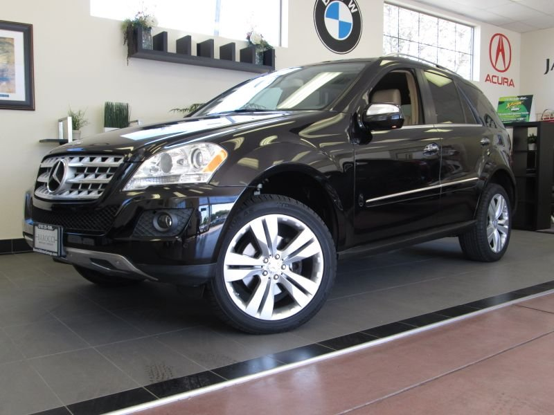 2010 MERCEDES M Class ML350 4D Utility Automatic Black Tan A Beautiful ML with the Harman Kardon