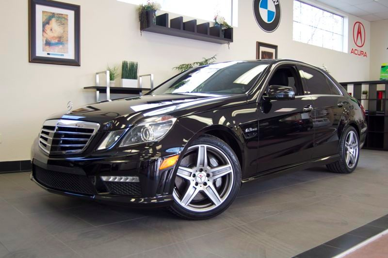 2010 MERCEDES E-Class E63 Sedan Automatic Black This is a beast of a car with 518 hp at 6800 rpm