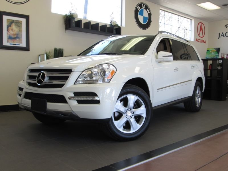 2011 MERCEDES GL-Class GL450 SUV Automatic White Beige This is such a beautiful SUV in great con