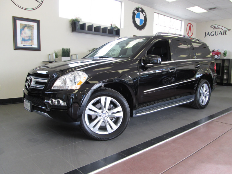 2011 MERCEDES GL-Class GL450 SUV Automatic Black Blind Spot Monitoring Dual Moonroofs Traction