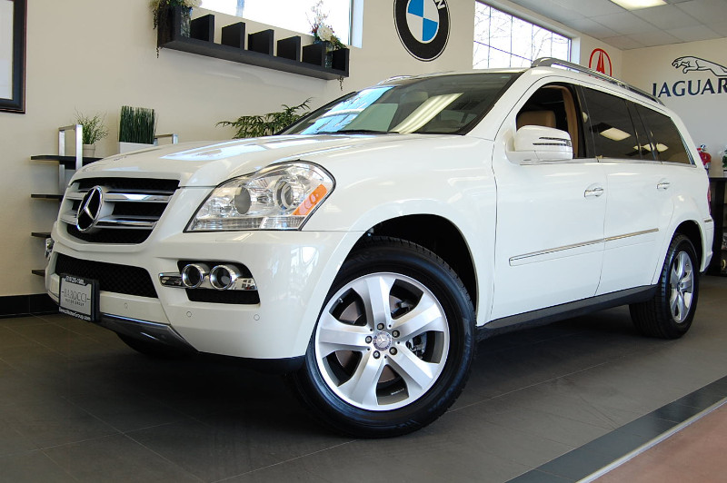 2011 MERCEDES GL-Class GL450 4MATIC Sport Utility 4D Auto 7-Spd Overdrive White ABS 4-Wheel Air