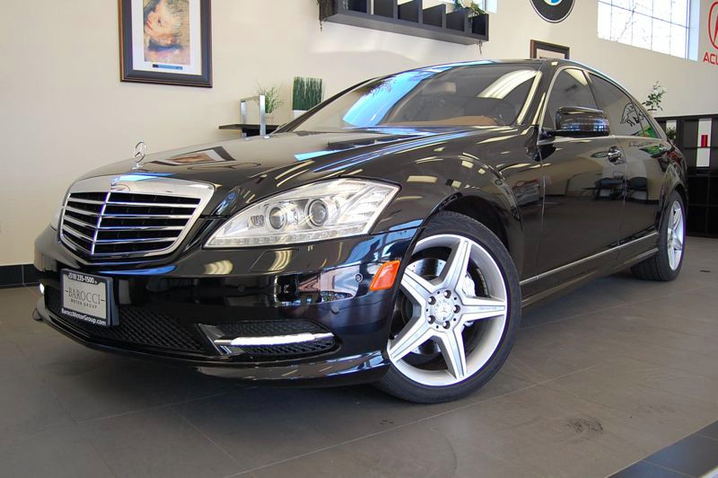 2010 MERCEDES S-Class S550 Sedan 4D Auto 7-Spd Spt  Comfort Black Tan This one owner sedan with
