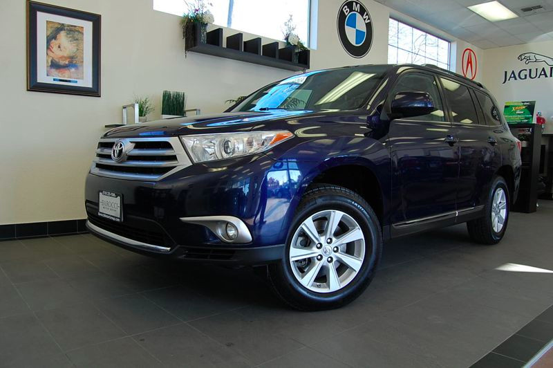 2011 Toyota Highlander Base 2WD V6 5-Speed Automatic Blue Parking Camera Rear Air Condition New