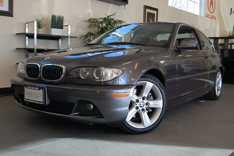 2005 BMW 3 Series 325Ci Coupe 2D Automatic Gray Black This BMW comes equipped with a premium pac