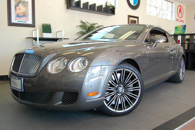 2008 Bentley Continental GT Speed Coupe 2D Automatic 6-Spd wOverdrive  Tiptronic Gray Tan This