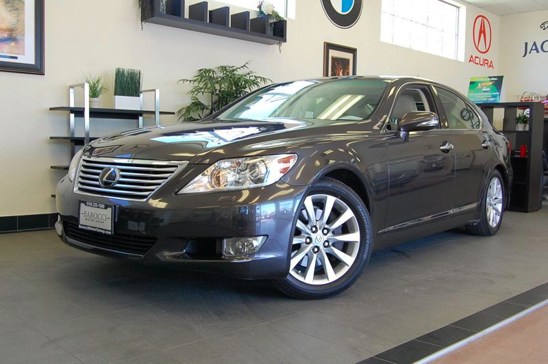 2010 Lexus LS 460 Luxury Sedan 8-Speed Automatic Gray Tan Includes some fantastic features like