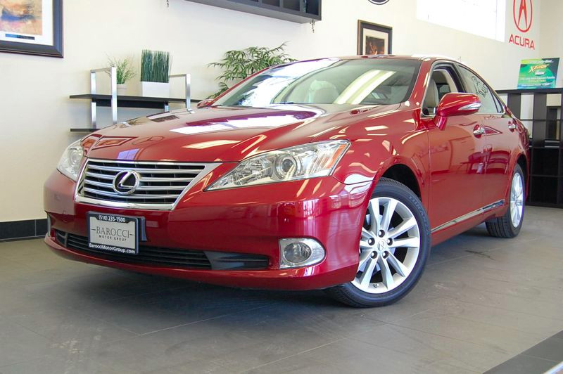 2011 Lexus ES 350 Sedan Automatic Red Tan Includes some great features like Power Leather Seats