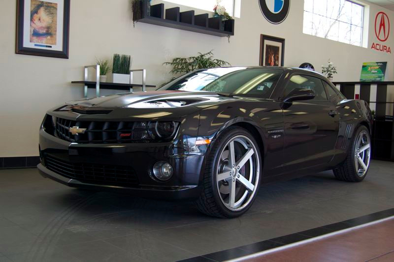 2012 Chevrolet Camaro SS 45th Anniversary Coupe 6-Speed Manual Black Black This 45th anniversay