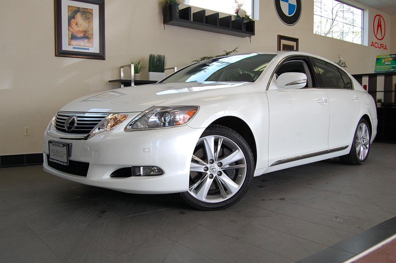 2011 Lexus GS 450h Sedan Automatic White Black This is a very nice Hybrid Lexus GS450 that is in