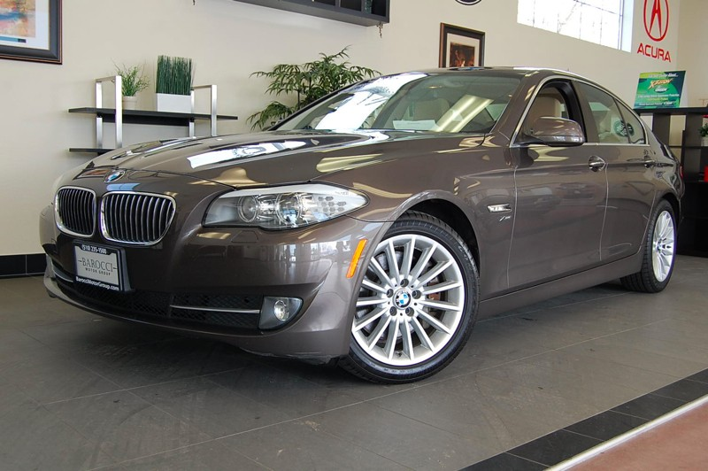 2011 BMW 5-Series 535xi 8-Speed Automatic Beige Tan Comes with the All Wheel Drive system and he