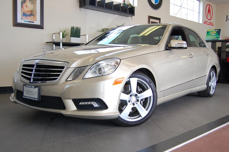2011 MERCEDES E-Class E350 Sedan 7-Speed Automatic Beige Brown Amazing car complete with Back Up