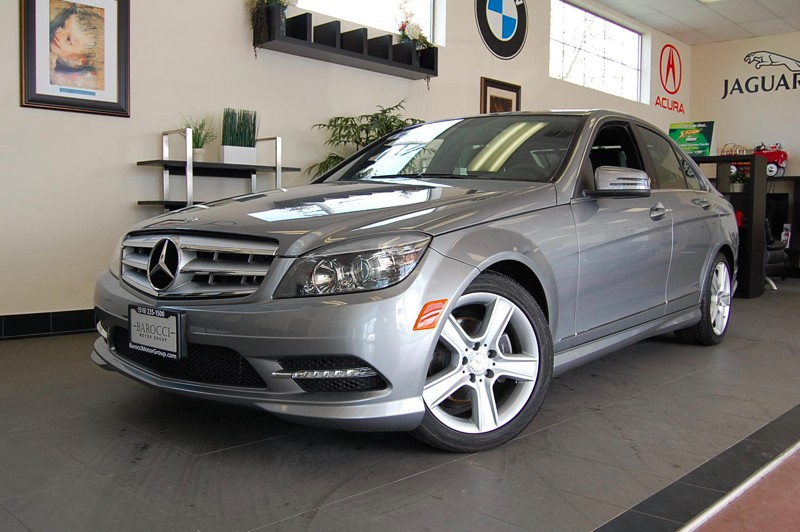 2011 MERCEDES C-Class C300 Luxury Sedan 4D Auto 7-Spd Touch Shift Gray Black This 1 Owner C Clas