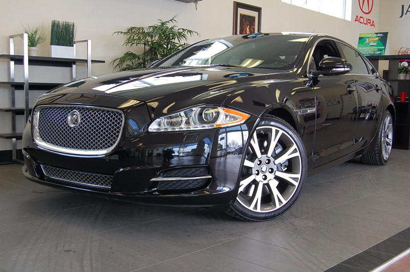 2011 Jaguar XJL-Series XJL-Supersport 6-Speed Automatic Black Black Amazing vehicle Pinnacle of