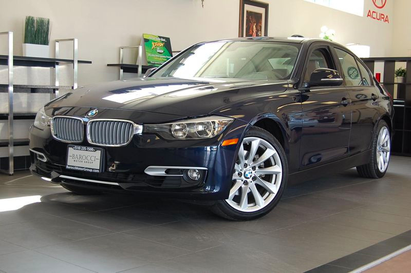 2013 BMW 3-Series 328i Sedan Automatic Blue Tan This car is in like new condition and it is a on