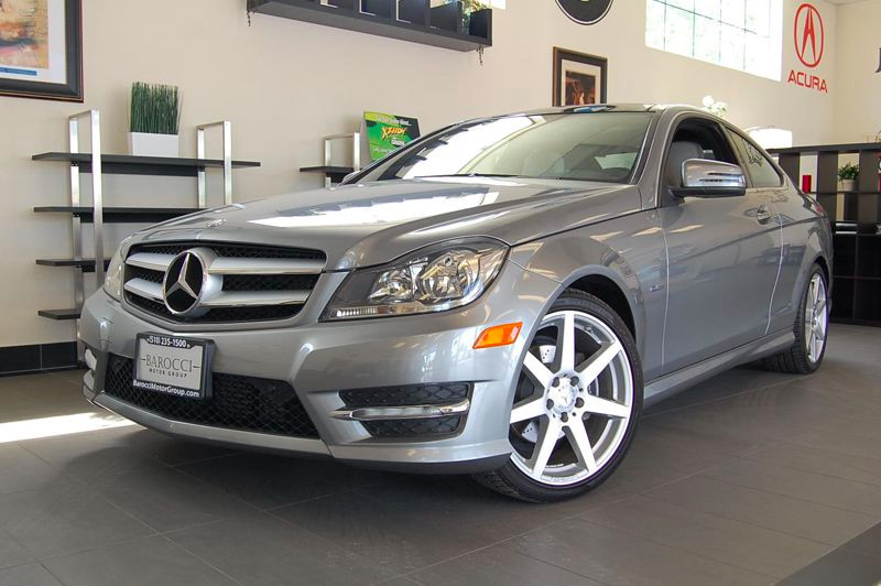 2012 MERCEDES C-Class C250 Coupe 7-Speed Automatic Gray Black This beautiful One Owner car gets