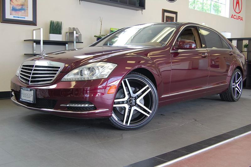 2011 MERCEDES S-Class S550 7-Speed Automatic Red Tan Amazing one owner car from California with
