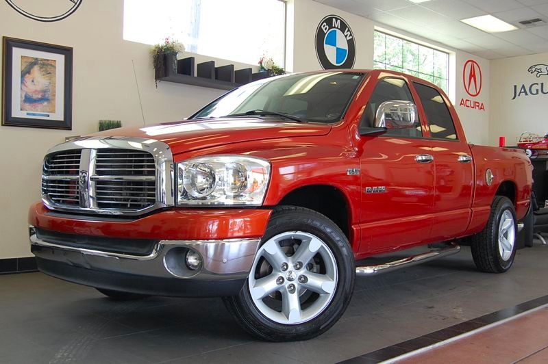 2008 Dodge Ram 1500 Quad Cab ST Quad Cab 2WD Automatic Orange Black This is a brilliant work tru