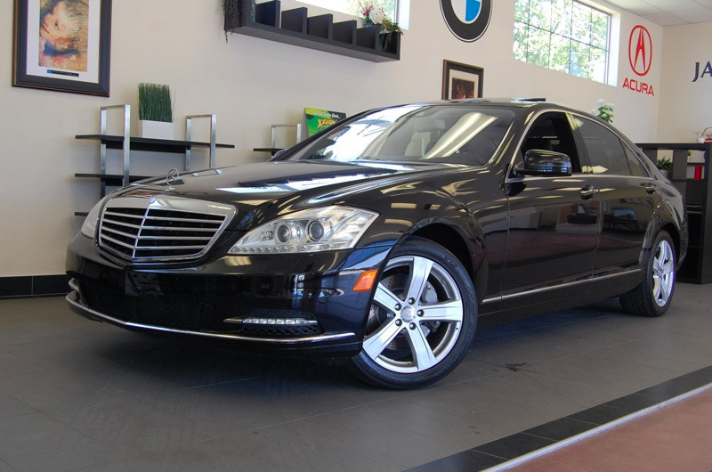 2010 MERCEDES S-Class S550 4dr Sedan 7 Speed Auto Black Black Beautiful S 550 sedan with Heated