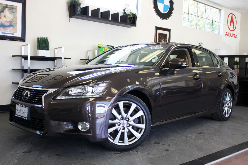 2013 Lexus GS 350 Base 4dr Sedan 6 Speed Auto Brown Tan Comes with a clean Carfax and is a one o