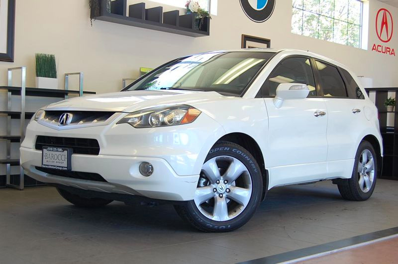 2008 Acura RDX Base wTech Base SUV 4dr AWD w 5 Speed Auto White Tan This is a fantastic vehicle