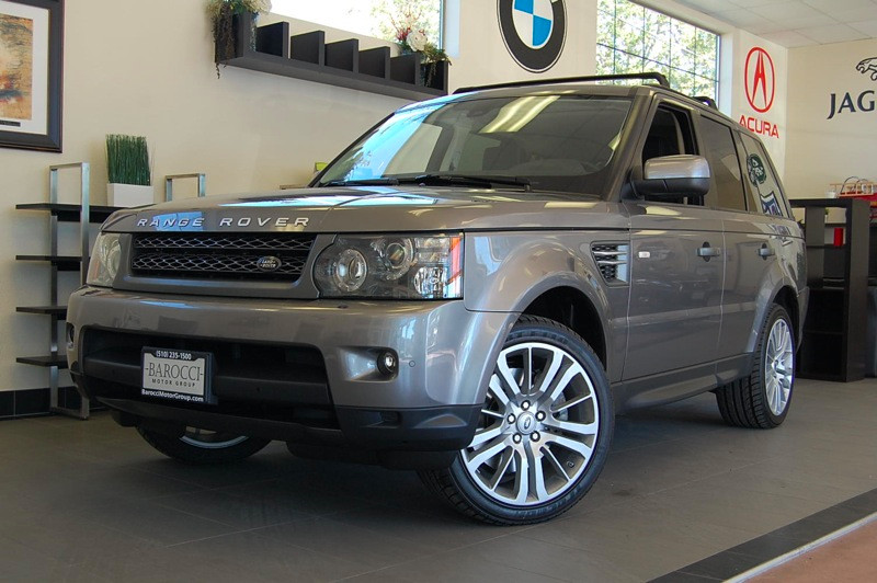 2011 Land Rover Range Rover Sport HSE 4x4 Automatic Gray Black Beautiful Luxury Edition model wi