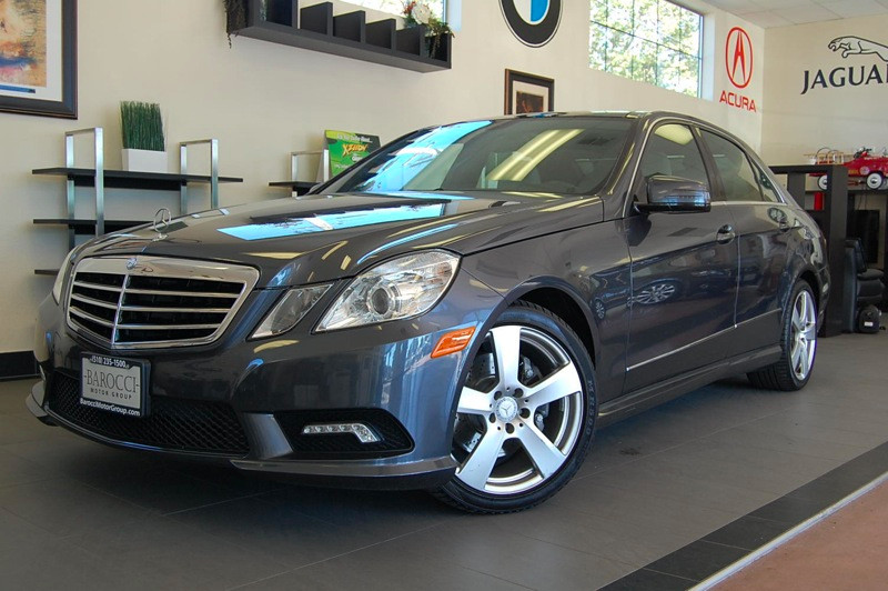 2011 MERCEDES E-Class E350 Sport 4dr Sedan 7 Speed Auto Gray Tan Comes with a ton of features in