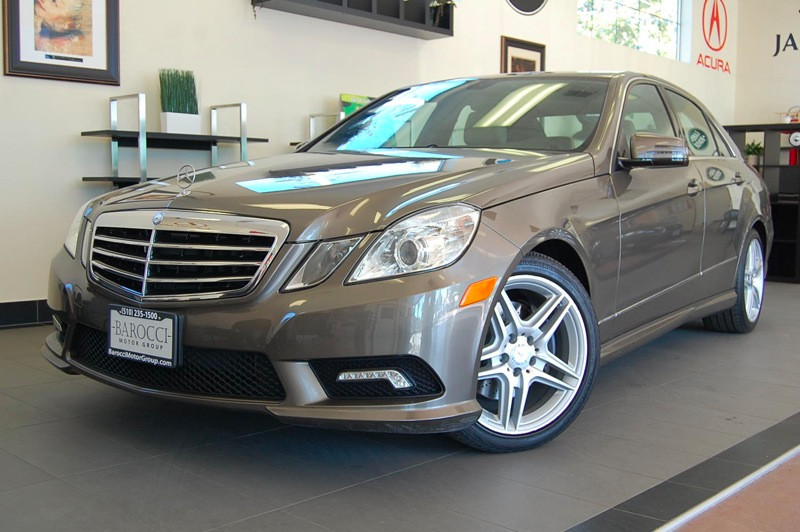 2011 MERCEDES E-Class E350 Luxury 4dr Sedan 7 Speed Auto Gray Tan Absolutely Beautiful E350 Seda