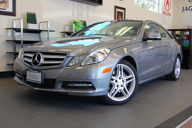 2011 MERCEDES E-Class E350 2dr Coupe 7 Speed Auto Silver Gray This Mercedes E Class Coupe comes