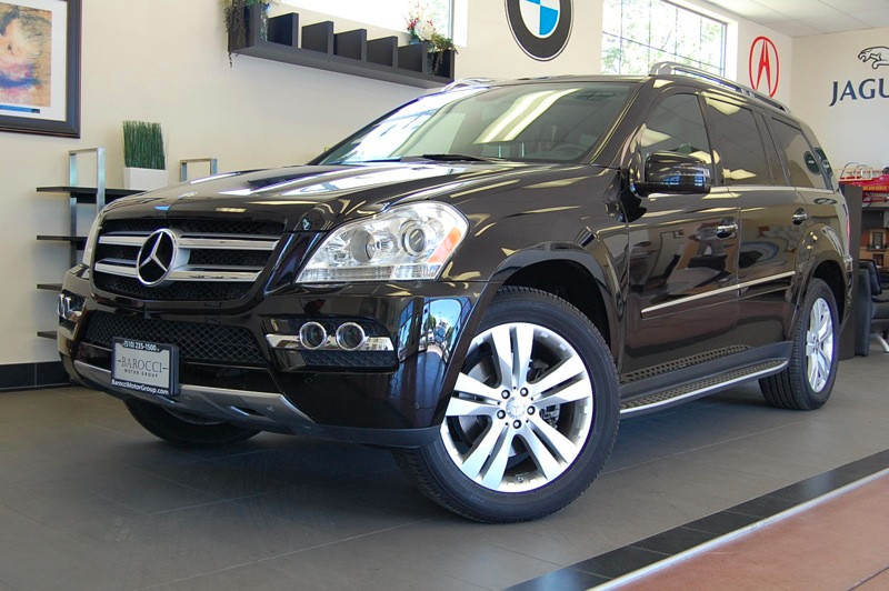 2011 MERCEDES GL-Class GL450 AWD  4MATIC 7 Speed Auto Black Charcoal This Mercedes GL450 is in f