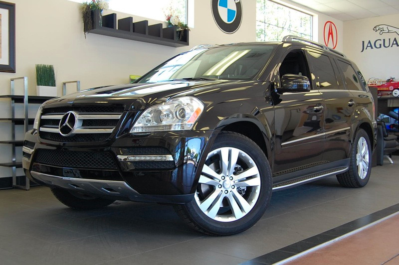 2012 MERCEDES GL-Class GL450 AWD  4MATIC 4dr SUV 7 Speed Auto Black Black A Beautiful GL 450 equ