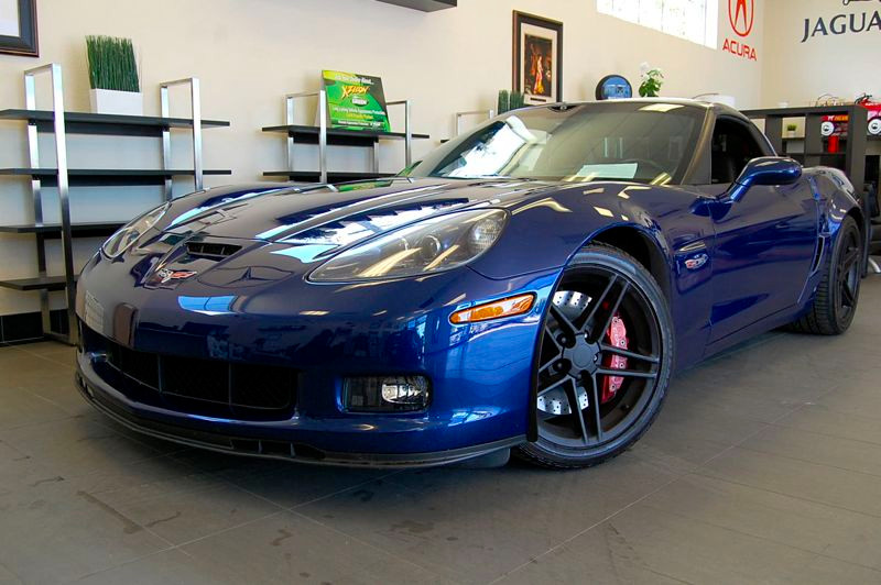 2007 Chevrolet Corvette Z06 2LZ 6 Speed Manual Blue Black Beautiful Z06 2LZ that was always gara
