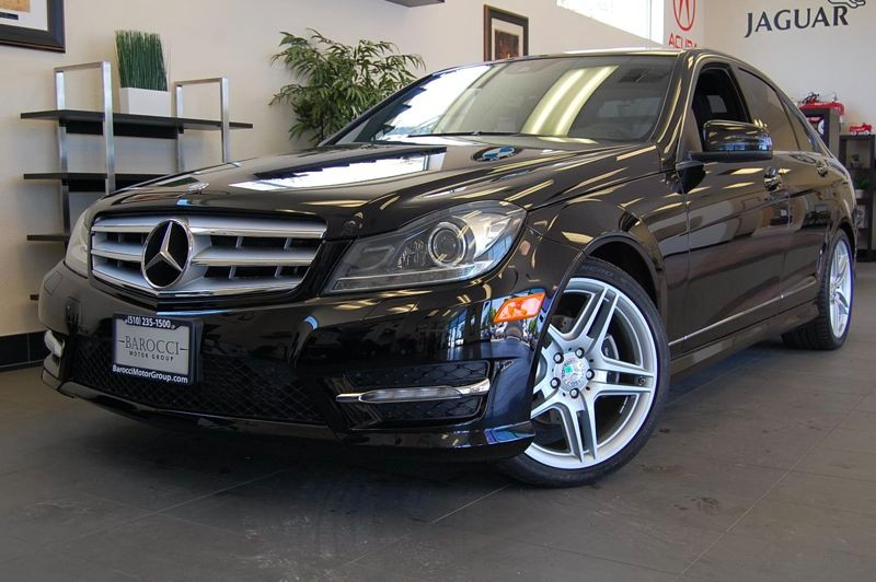 2012 MERCEDES C-Class C250 Luxury 4dr Sedan 7 Speed Auto Black Black Amazing C 250 sedan with He