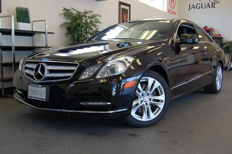 2011 MERCEDES E-Class E350 2dr Coupe 7 Speed Auto Black Black Fantastic E350 sedan with Heated a