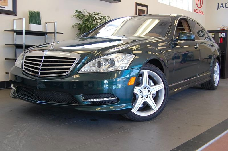 2010 MERCEDES S-Class S550 Sport PKG AMG 7 Speed Auto Green Tan Wonderful S 550 sedan with Heate