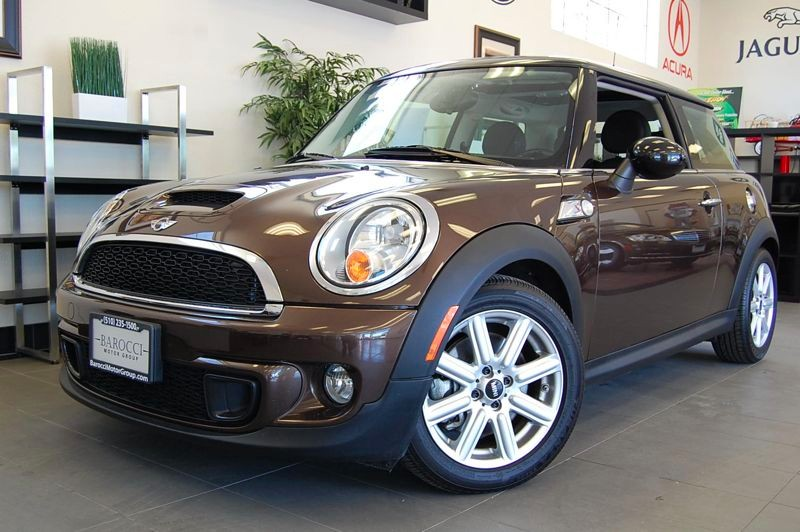 2011 MINI Cooper S 2dr Hatchback Automatic Brown Black This one owner vehicle is equipped with P