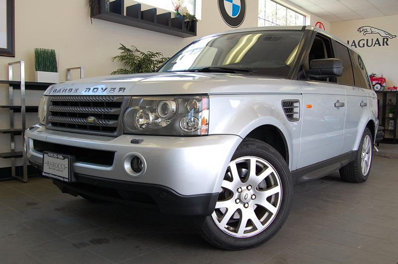 2007 Land Rover Range Rover Sport HSE 4dr SUV 4WD 6 Speed Auto Silver California owned with Enter
