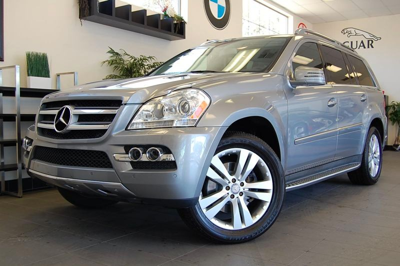 2011 MERCEDES GL-Class GL450 AWD  4MATIC 4dr SUV 7 Speed Auto Silver Black This is a beautiful C