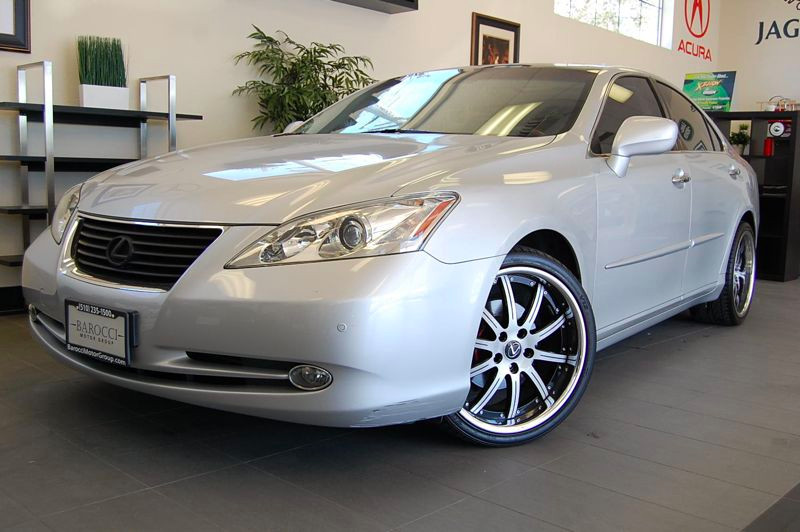2007 Lexus ES 350 Base 4dr Sedan 6 Speed Auto Silver Amazing vehicle with after market Premium Ri