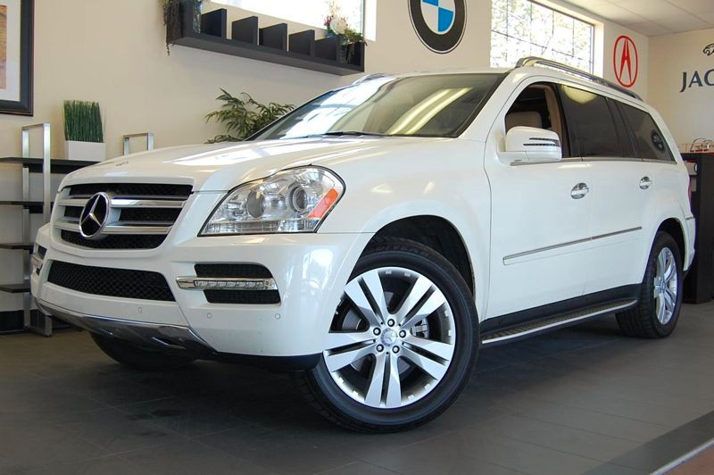 2012 MERCEDES GL-Class GL450 AWD  4MATIC 4dr SUV 7 Speed Auto White Tan California owned with En