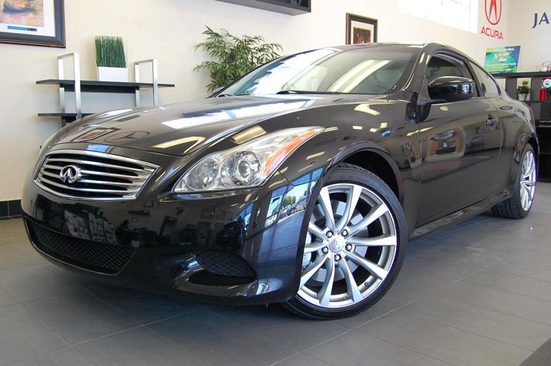 2009 Infiniti G37 S Sport Coupe 2dr RWD 7 Speed Auto Black Tan Beautiful car with a clean Carfax