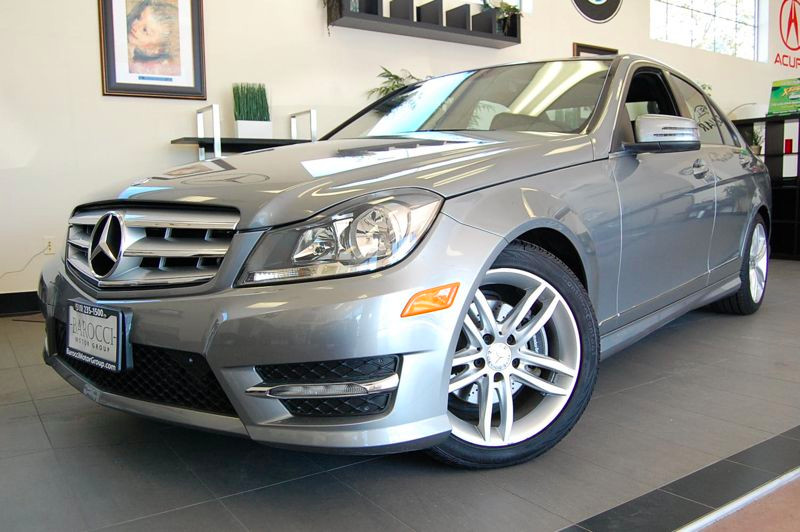 2013 MERCEDES C-Class C250 Sport 4dr Sedan 7 Speed Auto Silver Black Beautiful 1 Owner sedan tha